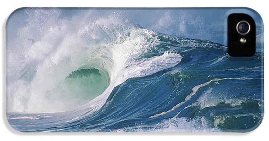Beautiful IPhone 5 / 5s Case featuring the photograph Turbulent Shorebreak by Vince Cavataio - Printscapes