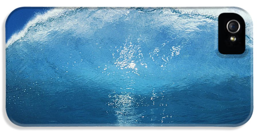 Afternoon IPhone 5 / 5s Case featuring the photograph Wave Tube by Ali ONeal - Printscapes