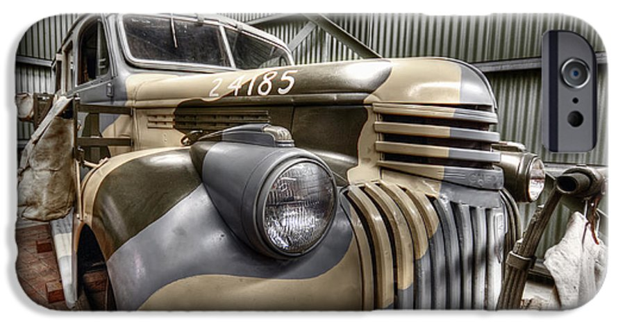 Hdr IPhone 6s Case featuring the photograph Ready To Roll by Wayne Sherriff