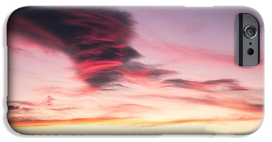 Sky IPhone 6s Case featuring the photograph Sunset And Clouds by Stefano Piccini