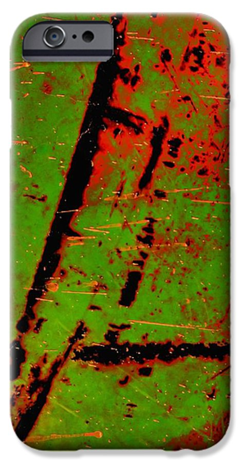 Abstract IPhone 6s Case featuring the photograph Circulate by Tom Druin