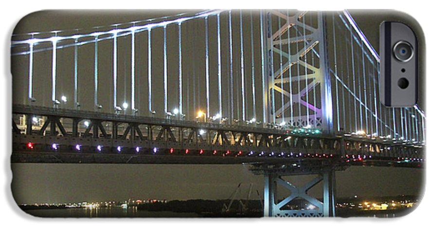Bridge IPhone 6s Case featuring the photograph Night Crossing by Rick Monyahan