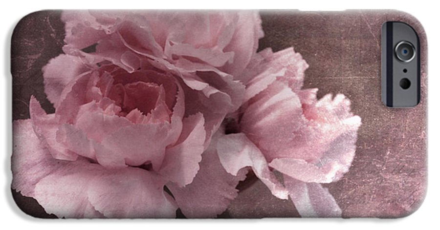 Carnation IPhone 6s Case featuring the photograph Nostalgia by Priska Wettstein
