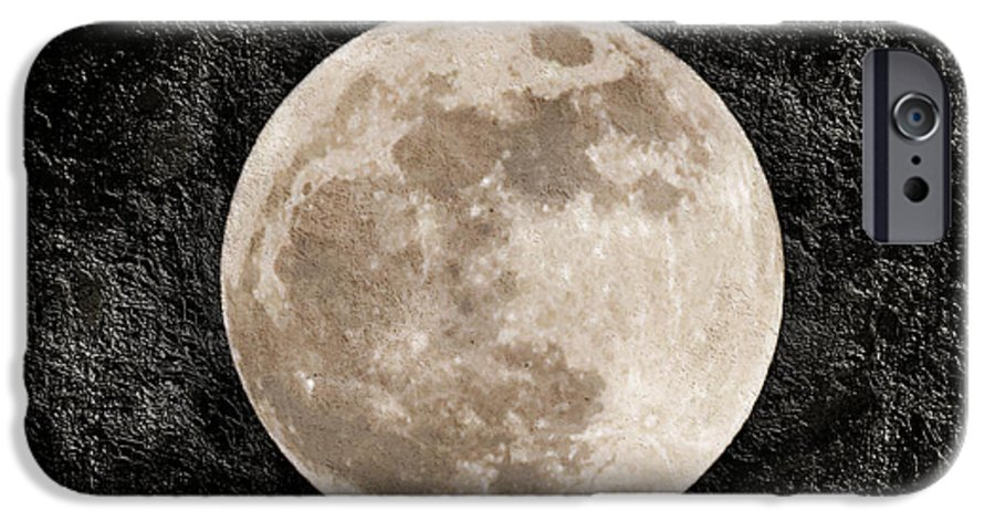 Super Moon IPhone 6s Case featuring the photograph Just A Little Ole Super Moon by Andee Design