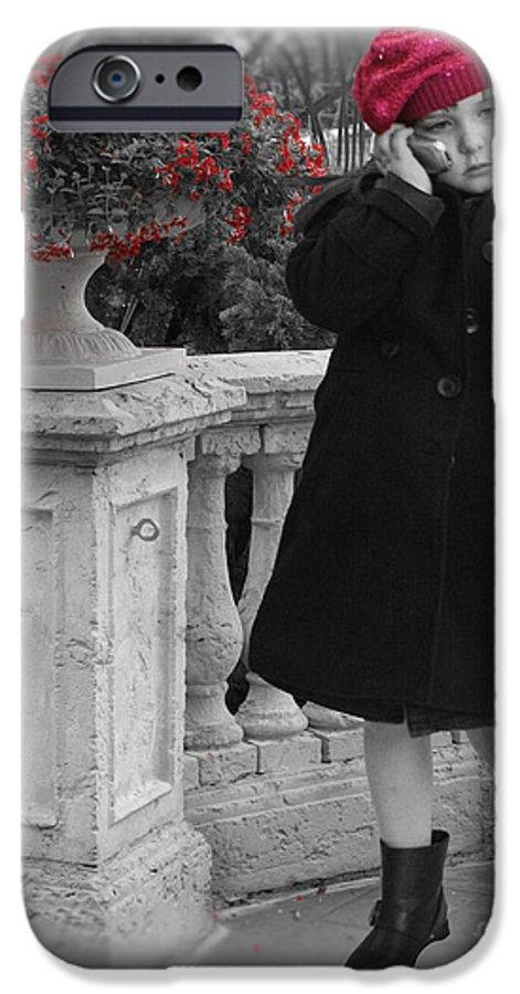 Chelsylotze IPhone 6s Case featuring the photograph Parisian Model Stance by ChelsyLotze International Studio