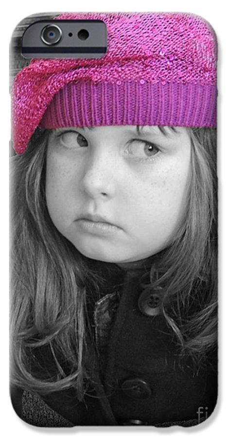 Chelsylotze IPhone 6s Case featuring the photograph Pink Hat by ChelsyLotze International Studio