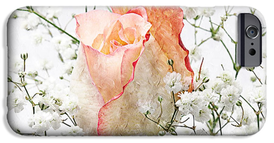 Pink Rose IPhone 6s Case featuring the photograph The Rose by Andee Design