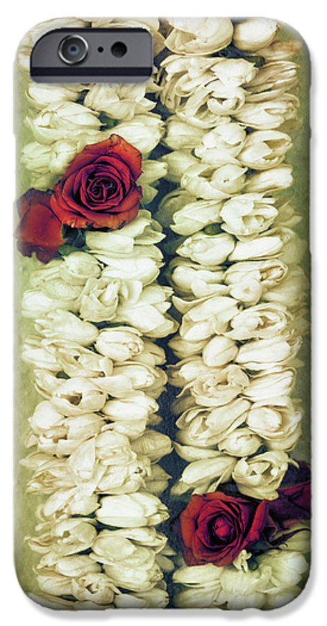Floral IPhone 6s Case featuring the photograph Pikake Lei by Jade Moon