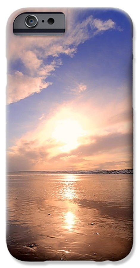 Aqua IPhone 6s Case featuring the photograph Pink Dawn by Svetlana Sewell