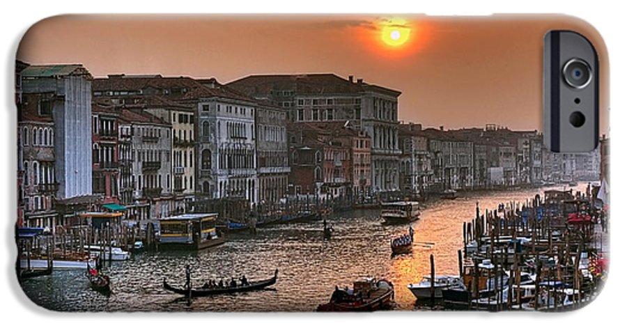 Venice Italy IPhone 6s Case featuring the photograph Riva Del Ferro. Venezia by Juan Carlos Ferro Duque