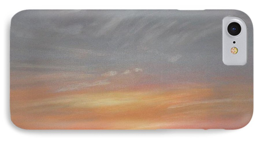 Western IPhone 7 Case featuring the painting Open To All by Janis Mock-Jones
