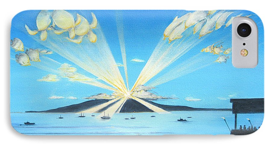 Maui IPhone 7 Case featuring the painting Maui Magic by Jerome Stumphauzer