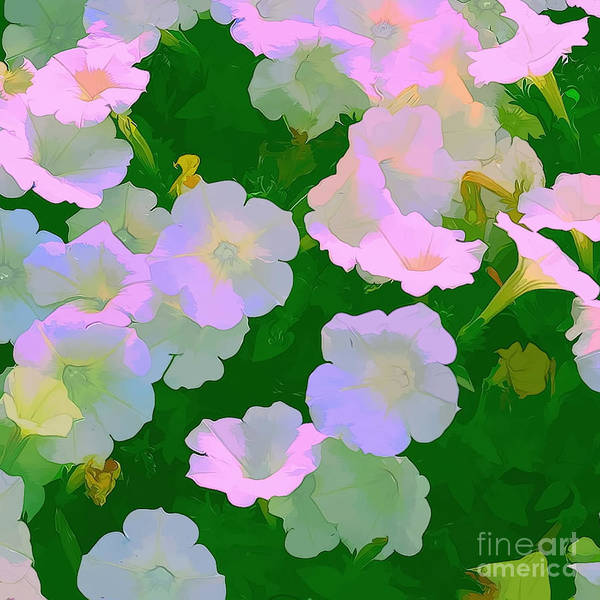 Artistic Photography Poster featuring the photograph Pastel Flowers by Tom Prendergast