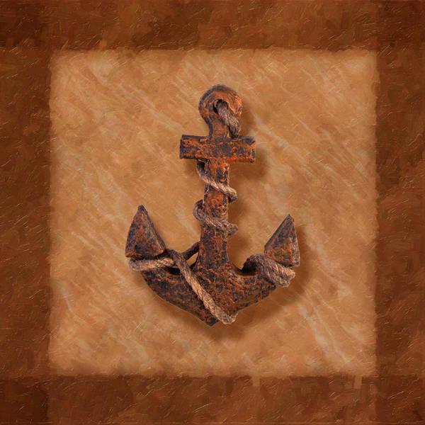 Anchor Poster featuring the photograph Ship's Anchor by Tom Mc Nemar