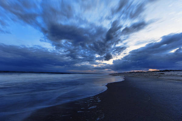 Dusk Poster featuring the photograph Afterglow On Fire Island by Rick Berk