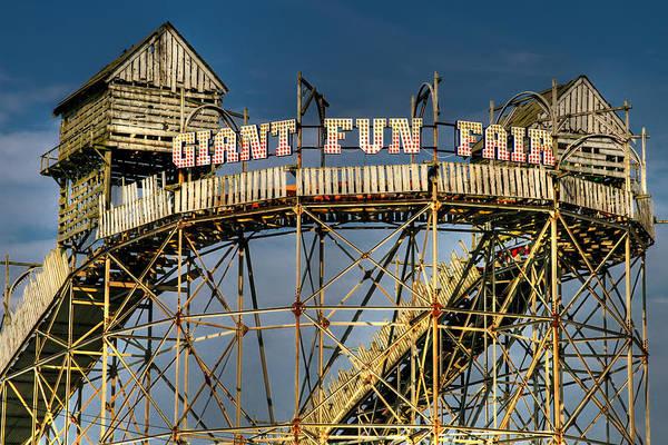 Fair Poster featuring the photograph Giant Fun Fair by Adrian Evans