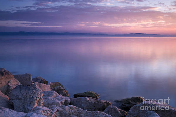Landscape Poster featuring the photograph Lake Constance by Silke Magino