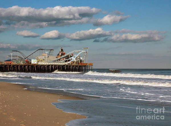 Landscape Poster featuring the photograph Beautiful Day At The Beach by Sami Martin