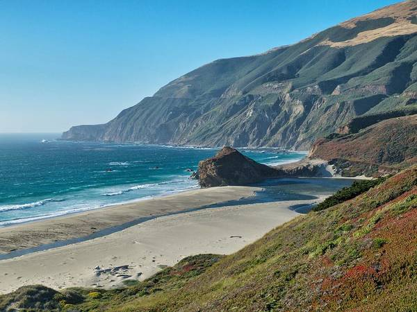 Beach Poster featuring the photograph West Coast Serenity by Rob Wilson