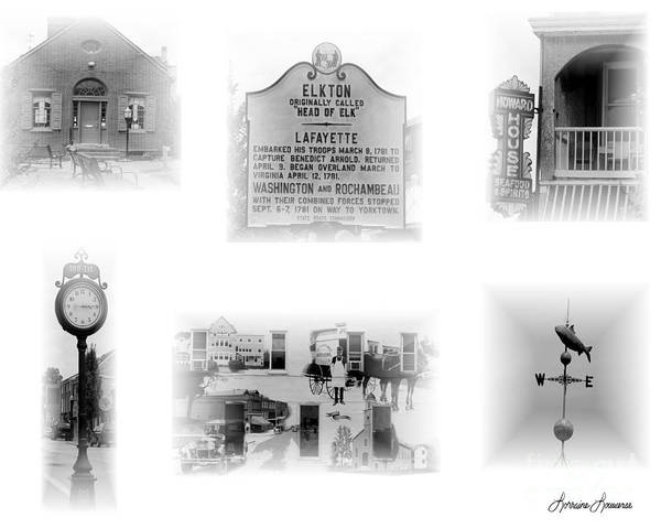 Digital Photography Poster featuring the photograph Downtown Elkton by Lorraine Louwerse