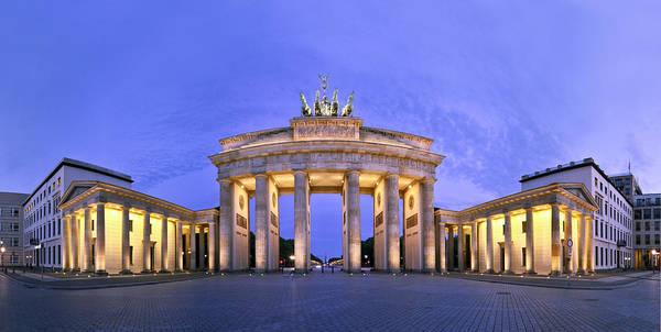 Berlin Poster featuring the photograph Brandenburger Tor Berlin by Greta Schmidt