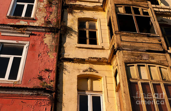 Istanbul Poster featuring the photograph Beyoglu Old Houses 01 by Rick Piper Photography