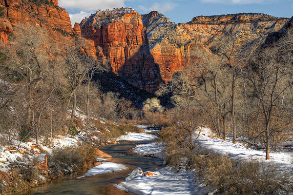 Zion National Park Poster featuring the photograph Zion National Park Utah by Utah Images