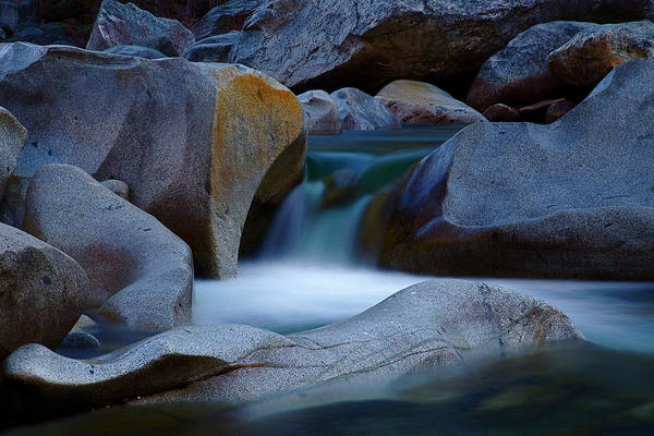 Yuba River Poster featuring the photograph Cascade by John Daly