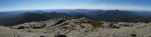Adirondacks Poster featuring the photograph The View North From Mt. Marcy by Joshua House