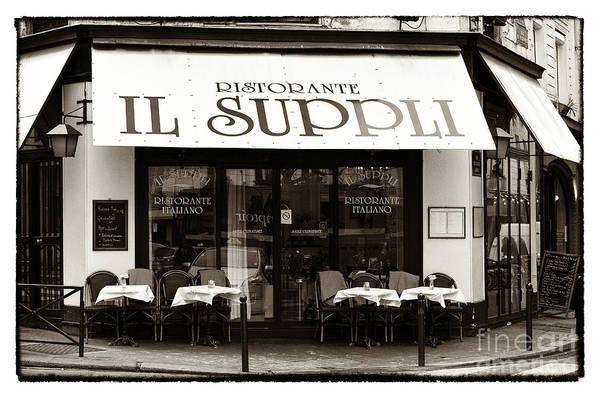 Il Suppli Poster featuring the photograph Il Suppli by John Rizzuto