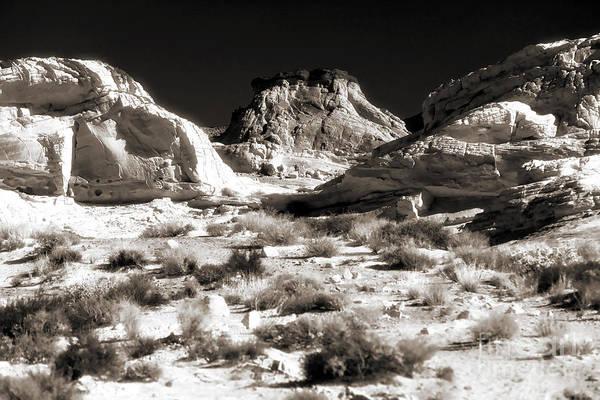 Desert Altar Poster featuring the photograph Desert Altar by John Rizzuto