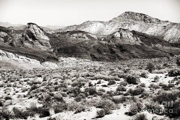Desert Peaks Poster featuring the photograph Desert Peaks by John Rizzuto