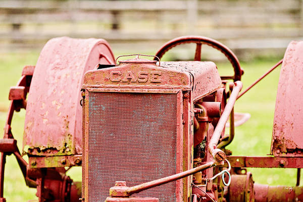 Case Poster featuring the photograph Farming Relic by Scott Pellegrin