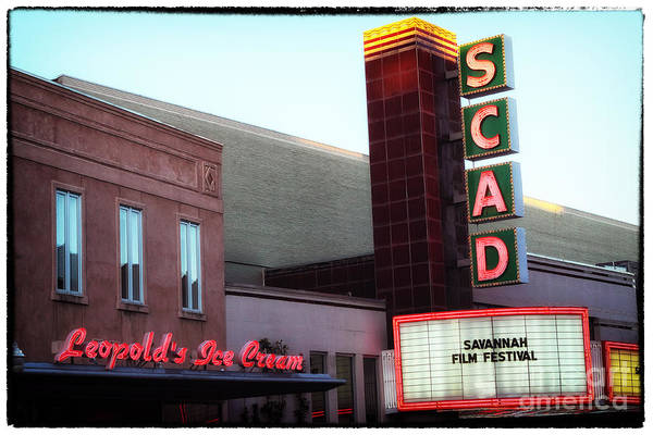 Scad Poster featuring the photograph Scad by John Rizzuto