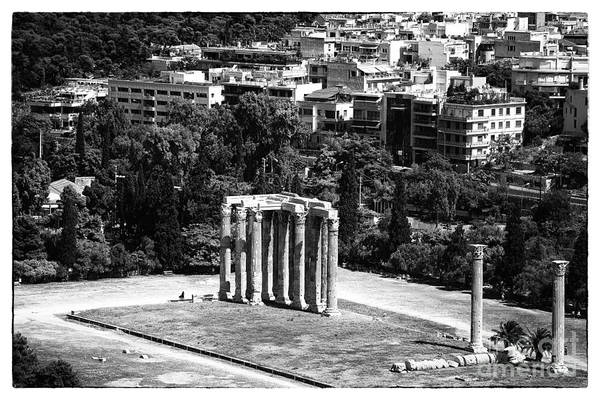 Temple Of Zeus Poster featuring the photograph Temple Of Zeus II by John Rizzuto