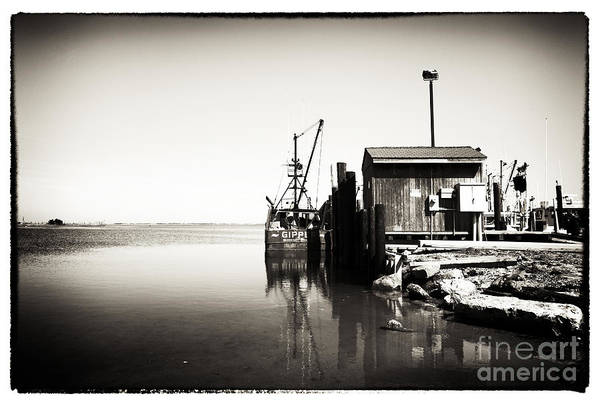 Vintage Lbi Bay Poster featuring the photograph Vintage Lbi Bay by John Rizzuto
