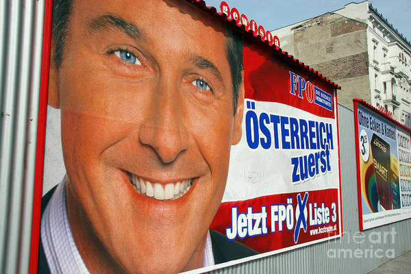 Politics Poster featuring the photograph Austrian Politics by Jason O Watson