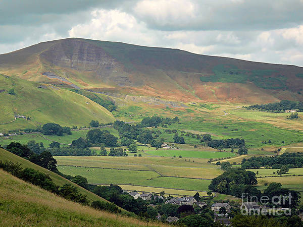 Mam Tor Poster featuring the photograph Mam Tor - Derbyshire by Graham Taylor