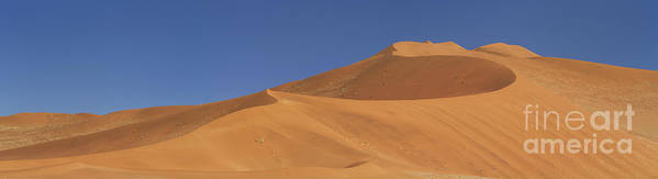 Dune Poster featuring the photograph Namibian Desert by Richard Garvey-Williams