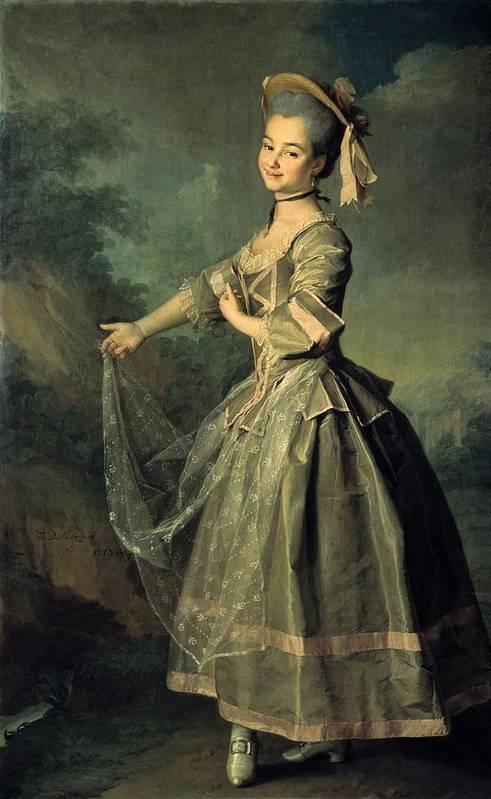 Vertical Poster featuring the photograph Levitskidmitri Grigorievich 1735-1822 by Everett