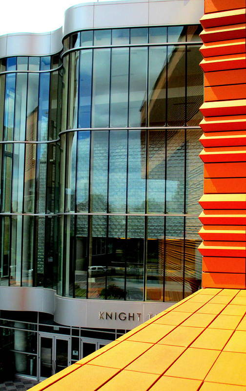Bechtler Museum Of Modern Art Poster featuring the photograph Knight And Day by Randall Weidner