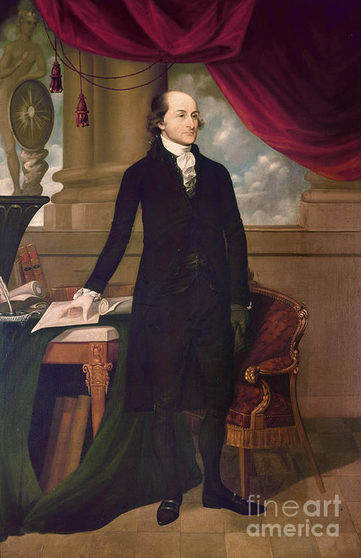 1782 Poster featuring the photograph John Jay (1745-1829) by Granger