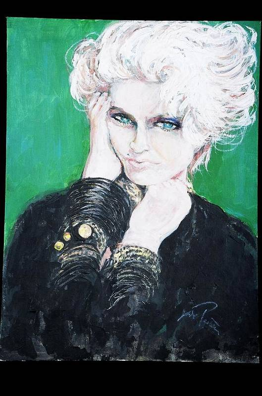 Madonna Poster featuring the painting Madonna by Jade Pasteur