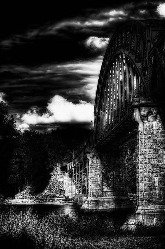 Nature Poster featuring the photograph The Bridge by Erik Brede