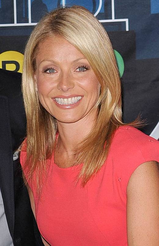 Kelly Ripa Poster featuring the photograph Kelly Ripa Inside For Kelly Ripa Wax by Everett