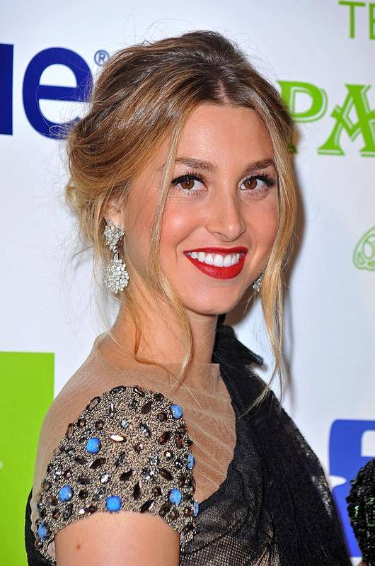 Whitney Port Poster featuring the photograph Whitney Port At Arrivals For Vh1 Divas by Everett