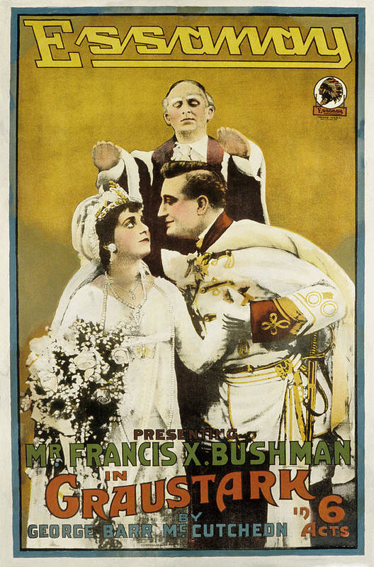 1910s Movies Poster featuring the photograph Graustark, Beverly Bayne, Francis X by Everett