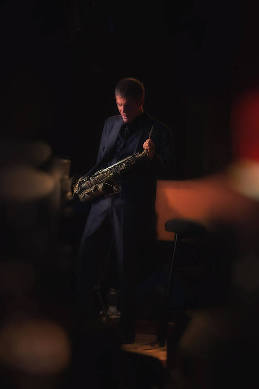 David Sanborn Is An American Alto Saxophoist Who Came To Prominence In The 80's. He Works In Several Genres Including Jazz Poster featuring the photograph David Sanborn by Dailey Pike