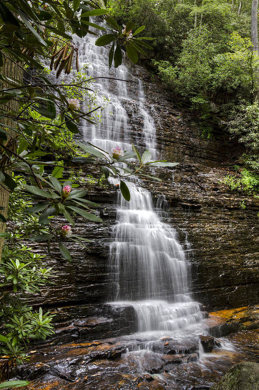 Appalachia Poster featuring the photograph Benton Falls by Debra and Dave Vanderlaan