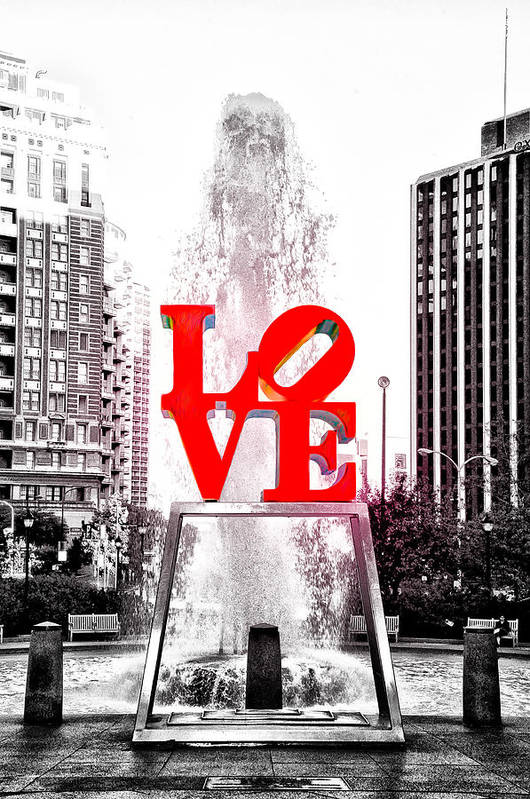 Brightest Love Poster featuring the photograph Brightest Love by Bill Cannon